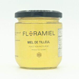 Pot de miel de tilleul de 340 grammes