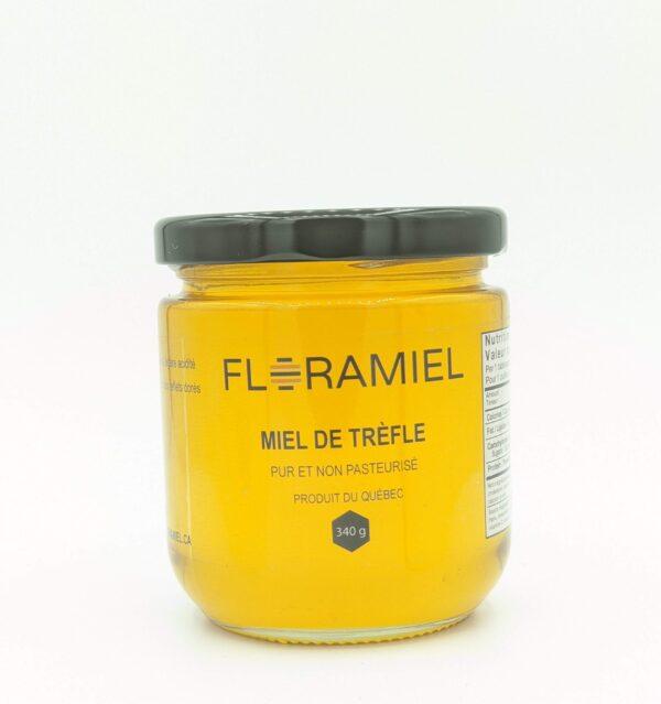pot de miel de trèfle 340 g