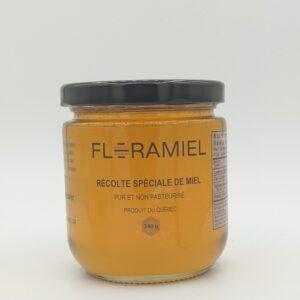 miel de trèfle-framboisier