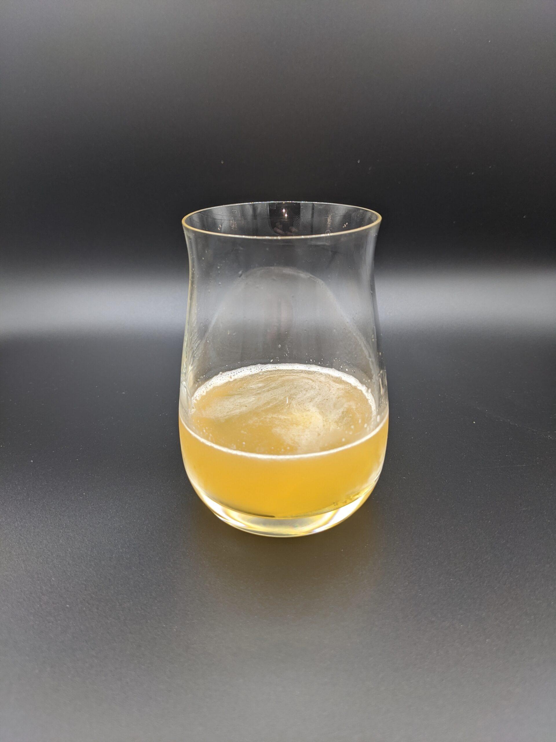 résultat de la recette de Whisky sour au miel local et au whisky canadien