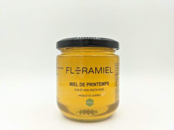pot de miel de printemps